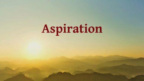 La puissance de la prière« Aspiration »
