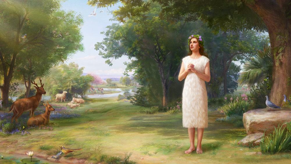 Dieu créa Eve