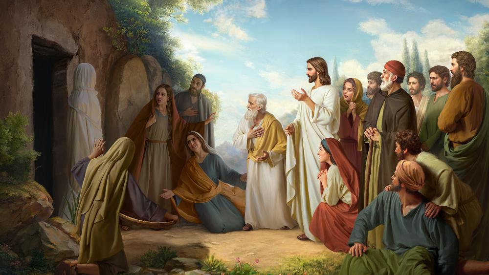 Miracle De La Résurrection De Lazare1