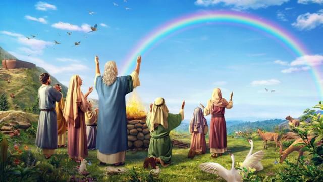arc en ciel bible
