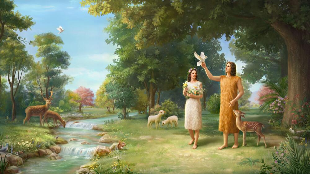 L'Éternel Dieu fit à Adam et à sa femme des habits de peau, et il les en revêtit Ⅰ