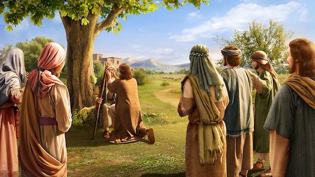 Seigneur Jésus guérit les aveugles