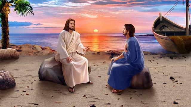 Après la résurrection du Seigneur Jésus, Il est apparu à Pierre
