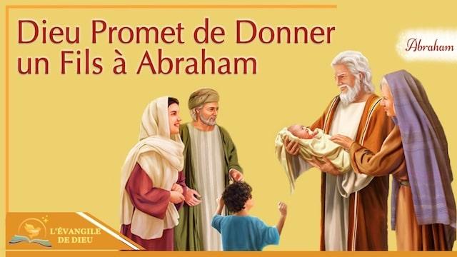 Dieu Promet de Donner un Fils à Abraham