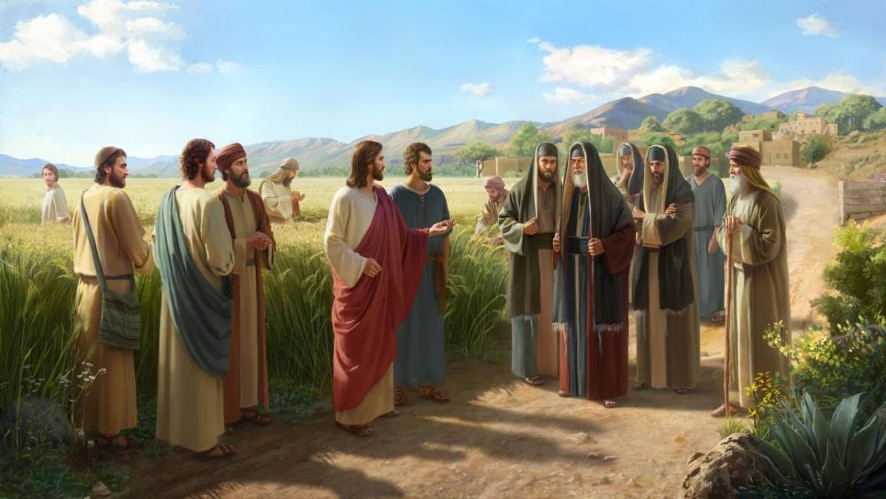 Le reproche de Jésus aux Pharisiens