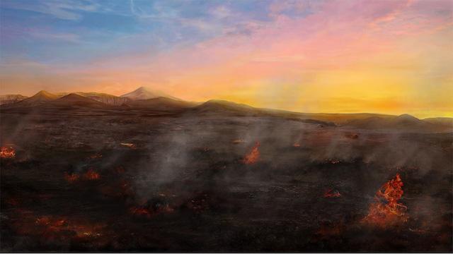 Après la résistance et l'hostilité répétées de Sodome envers Lui, Dieu l'éradique totalement