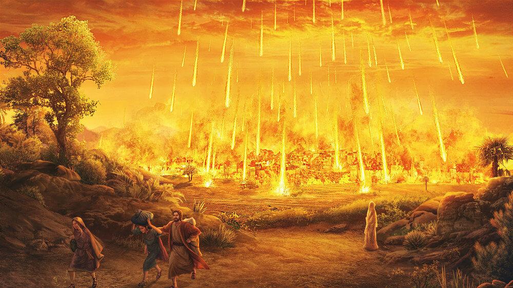 Dieu détruit Sodome