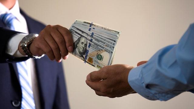 Transaction d'argent