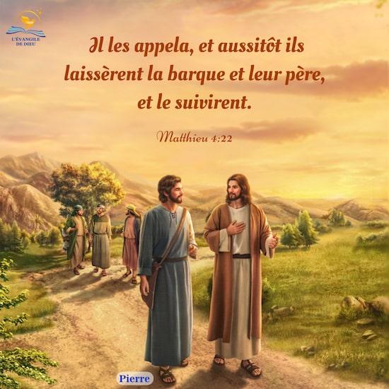 Évangile du jour — Suivre le Seigneur