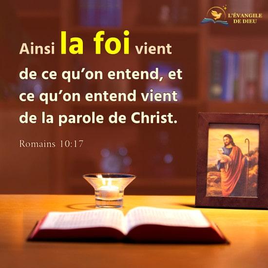 Apprenez à écouter la voix de Dieu pour accueillir le retour du Seigneur