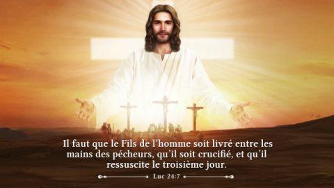 Les versets sur la résurrection du Seigneur Jésus — Être reconnaissant pendant la fête de Pâques