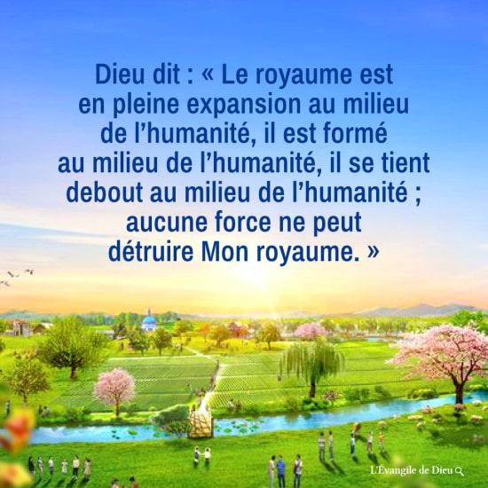 Le royaume est en pleine expansion au milieu de l'humanité