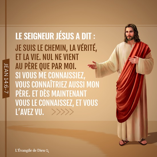 Images bibliques-Jean 14:6-7