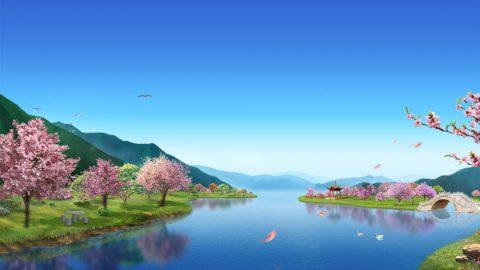 Paroles sur les prophéties de la beauté du royaume et la destination de l'humanité, sur les promesses et les bénédictions de Dieu