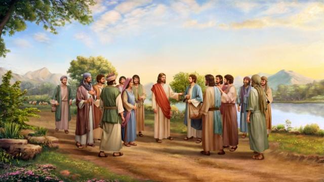 Jésus et les disciples