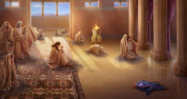 La repentance des habitants de Ninive