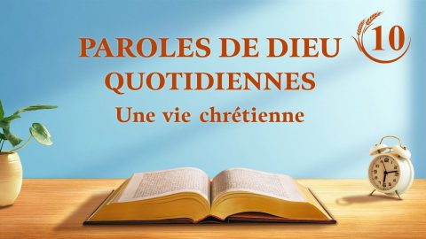 Paroles de Dieu quotidiennes | «Les deux incarnations sont l'accomplissement de la signification de l'incarnation » | Extrait 16