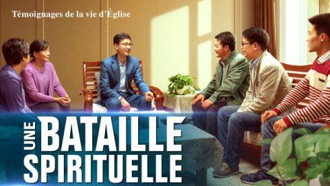 Témoignage de la vie d'Église « Une bataille spirituellee »