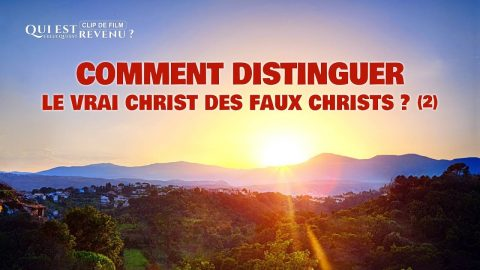 Film chrétien « Qui est Celui qui est revenu » (Partie 2/7)